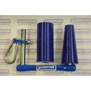 Тренажер ручка для армрестлинга с двумя насадками (конус и цилиндр)