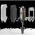 СОЭКС Эковизор F4 - (4 в 1) дозиметр, нитрат тестер, оценка качества воды, индикатор электромагнитных полей.