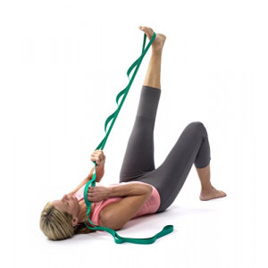 Ремень для растяжки, йоги, пилатеса, гимнастики (Stretch Strap)
