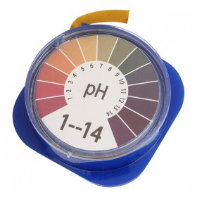 Лакмусовая бумага (pH тест) 1 до 14 pH. Рулон 5 метров.