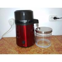 Дистиллятор лабораторный BL9900 Малиновый (корпус нержавеющая сталь, стеклянная ёмкость)