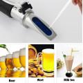 Цифровой портативный brix рефрактометр для пива и вина