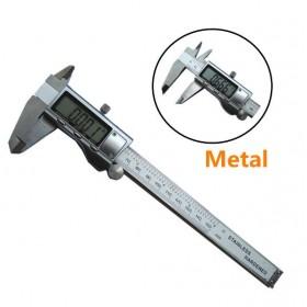 Штангенциркуль электронный (цифровой) 150 мм, металлический корпус