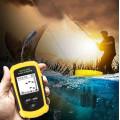 Эхолот сонар Lucky FFW108-1 для поиска и обнаружения рыбы