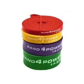 Набор из 4х резиновых петель Band4Power (нагрузка 3 - 54 кг)