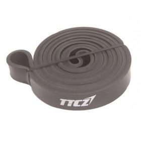 Черная резиновая петля (ширина 4.5 мм, нагрузка 13 - 27 кг)