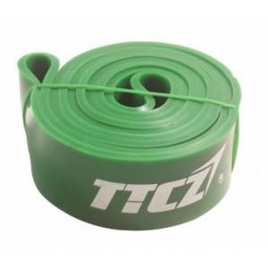 Зеленая резиновая петля (ширина  2.5 мм, нагрузка 15 - 43 кг)