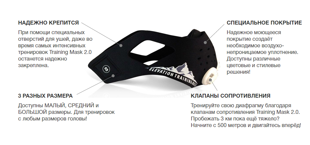 training mask 2.0 астана